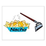 Nacho Hoe Small Poster