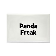 Panda Freak Rectangle Magnet