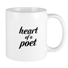 heart of a poet Coffee Mug