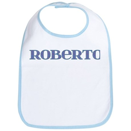 Roberto Blue Glass Bib