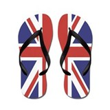 UNION JACK UK BRITISH FLAG Flip Flops