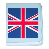 UNION JACK UK BRITISH FLAG baby blanket