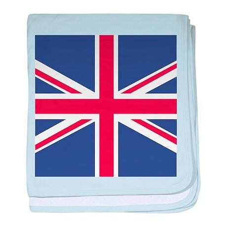 UNION JACK UK BRITISH FLAG baby blanket