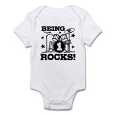 Cute 1st Birthday Infant Bodysuit