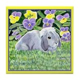 Spencer Rabbit Tile Coaster