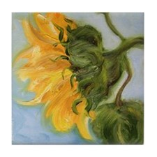 Tile Coaster - sunflower
