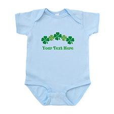 Irish St Patricks Personalized Infant Bodysuit