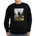 Elk Wapiti Sweatshirt (dark)