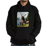 Elk Wapiti Hoodie (dark)