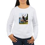 Elk Wapiti Women's Long Sleeve T-Shirt