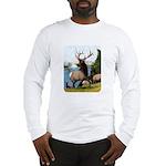 Elk Wapiti Long Sleeve T-Shirt