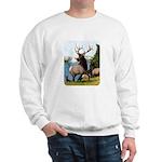 Elk Wapiti Sweatshirt