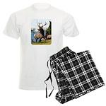 Elk Wapiti Men's Light Pajamas