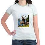 Elk Wapiti Jr. Ringer T-Shirt