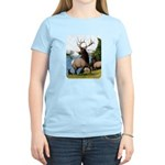 Elk Wapiti Women's Light T-Shirt