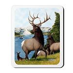 Elk Wapiti Mousepad