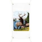 Elk Wapiti Banner