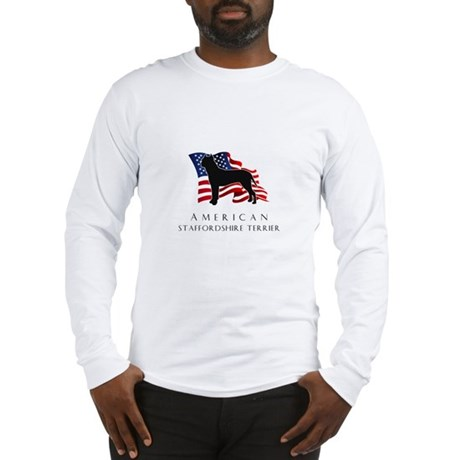 """American"" Staffordshire Long Sleeve T-Shirt"