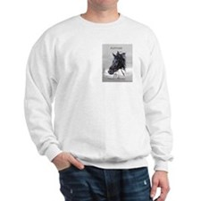 Ruffian Sweatshirt: Portrait on front