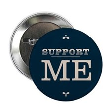 "Funny Supporter 2.25"" Button"