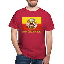 Praha (Prague) Flag T-Shirt