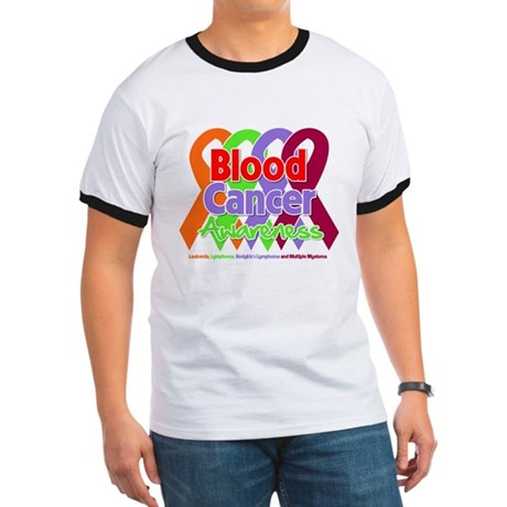 Blood Cancer Awareness Ringer T