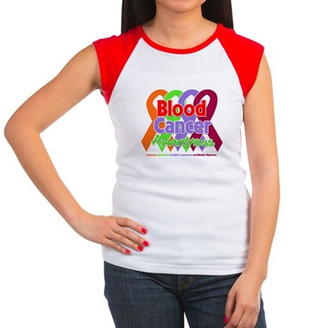 Blood Cancer Awareness Women's Cap Sleeve T-Shirt