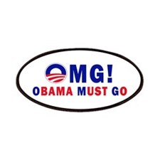 OMG! Obama Must Go Patches