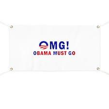 OMG! Obama Must Go Banner