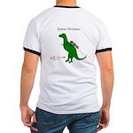 Space Dinosaur Badass Ringer T