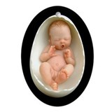 &quot;Aphira&quot; Egg Baby - Porcelain Keepsake