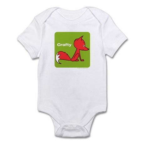 Retro Crafty Fox Infant Creeper
