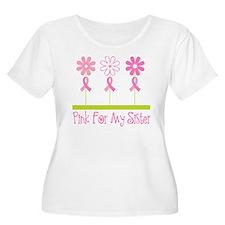 Pink Ribbon For My Sister T-Shirt