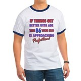 Funny 86th Birthdy designs T