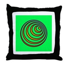 23rd Spiral Erisian Hypnosis Throw Pillow