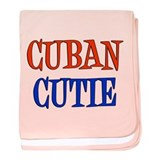 Cuban Cutie baby blanket
