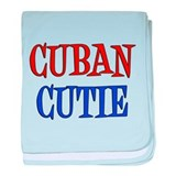 Cuban baby Baby Blankets