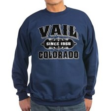 Vail Since 1966 Black Sweatshirt