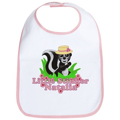 Little Stinker Natalia Bib