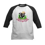 Little Stinker Natasha Kids Baseball Jersey