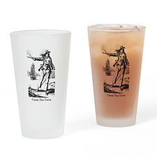 Pirate Anne Bonney Drinking Glass