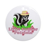 Little Stinker Patricia Ornament (Round)