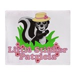Little Stinker Patricia Throw Blanket