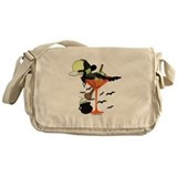 Halloween Martini Girl Messenger Bag