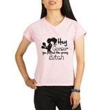 Wrong Bitch Breast Cancer Performance Dry T-Shirt
