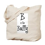B Is For Buffy Tote Bag