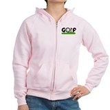 'Golf' Zip Hoody