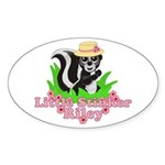 Little Stinker Riley Sticker (Oval 10 pk)