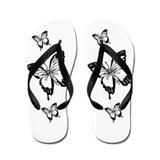 Butterfly Flip Flops