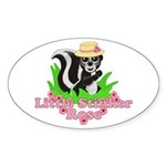 Little Stinker Rose Sticker (Oval)